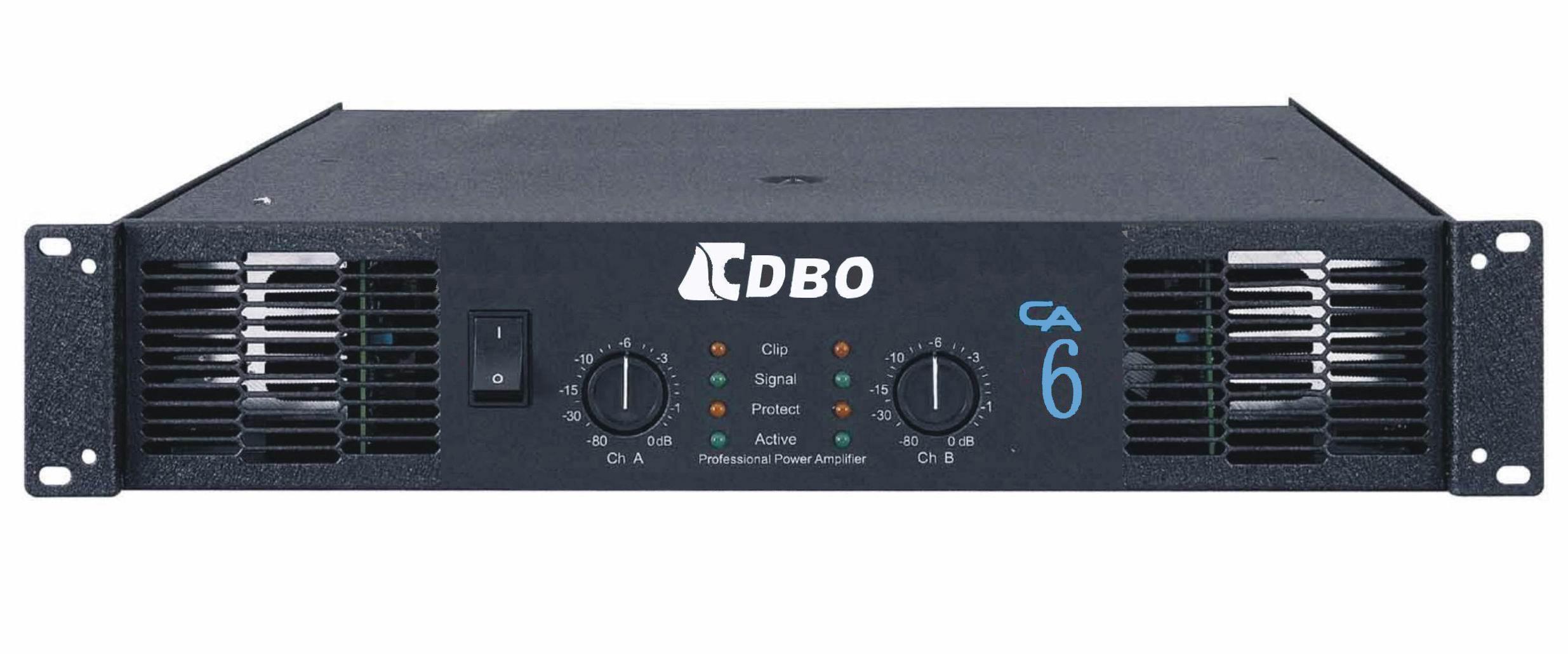 (2U、3U) CA系列功放涵盖了2U-3U的高度和450w-1500w的功率范围。CA系列追求的是更快的反应速度,增加了点子压线路和电路桥接的线路。SMT的生产技术,精良的元器件。CA系列的功放都可以承受立体声2,桥接4的负载,适合驱动线性系列的扬声系统。CA系列适合大型流动演出、乐队表演、DISCO、夜总会等场合。